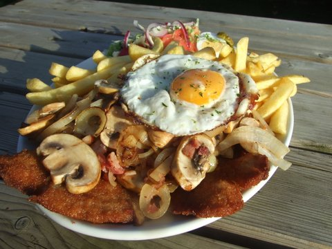 Heijs Hepke - Snitzel met friet en ei